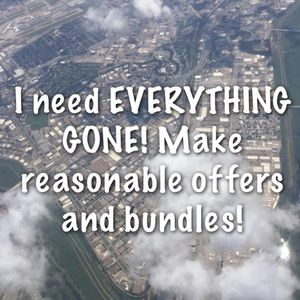 EVERYTHING MUST GO ‼️‼️‼️